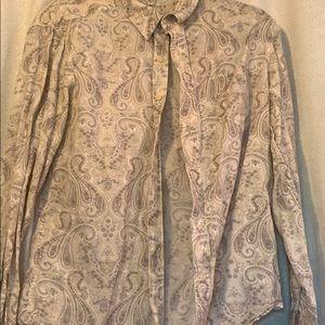 Paisley Lucky Brand jacket